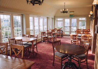 Main dining area The Sibthorpe Arms